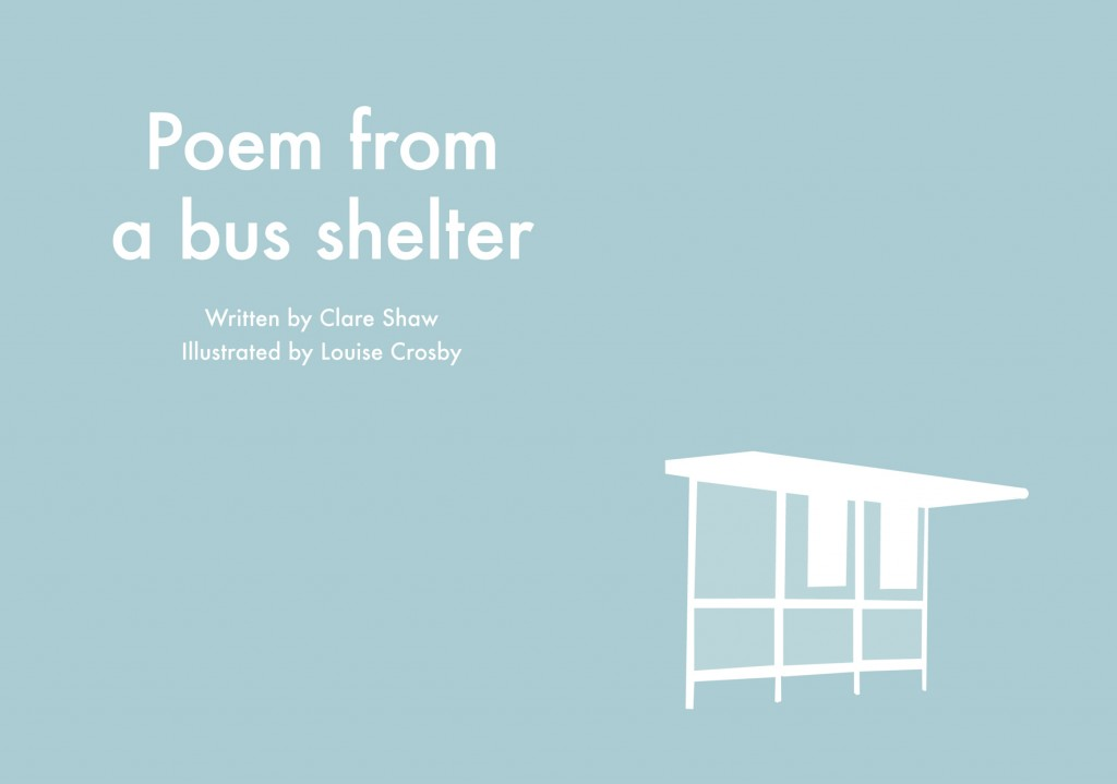 Poem from a bus shelter: Seeing Poetry